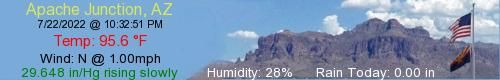 Apache Junction Weather